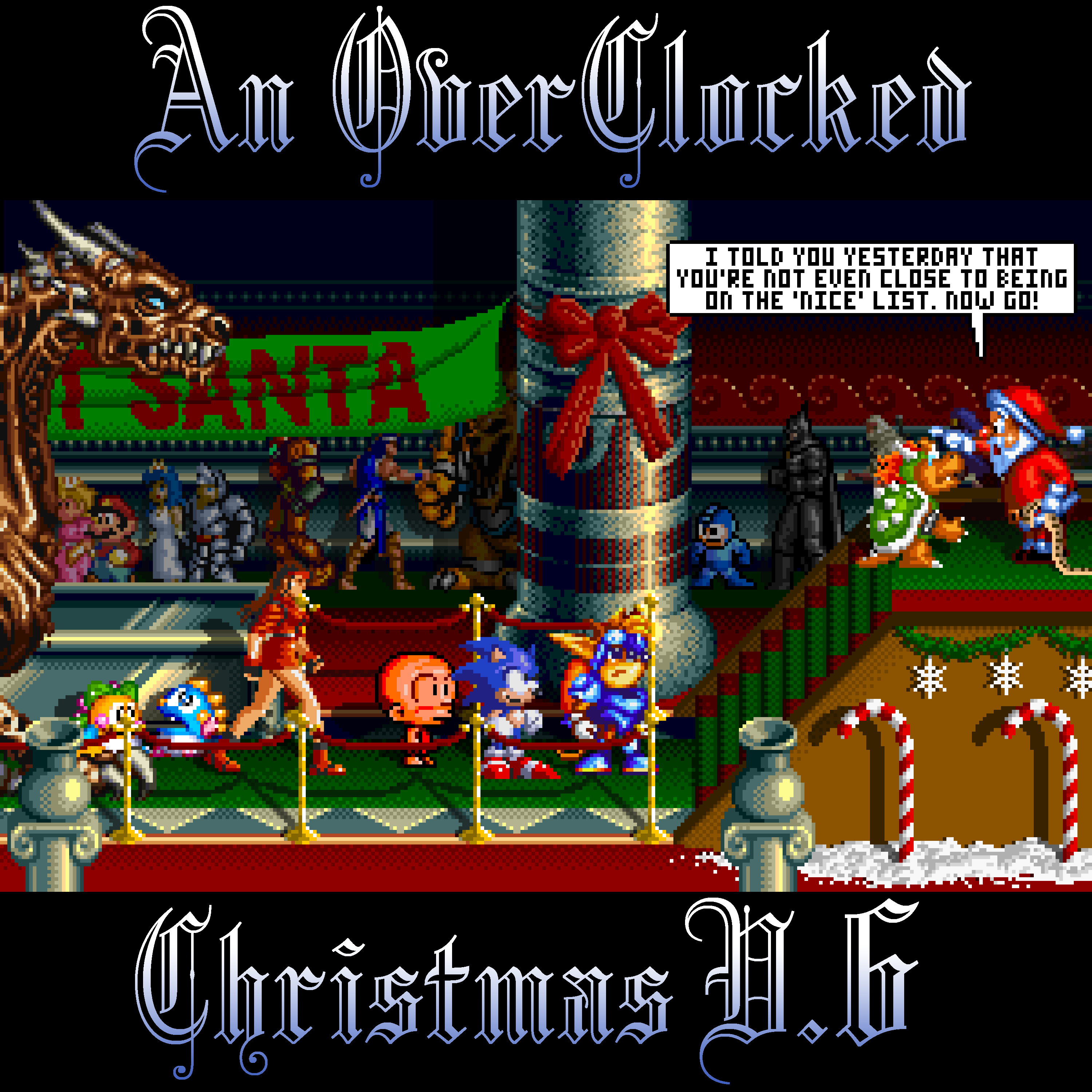 An OverClocked Christmas v.6 Front Cover