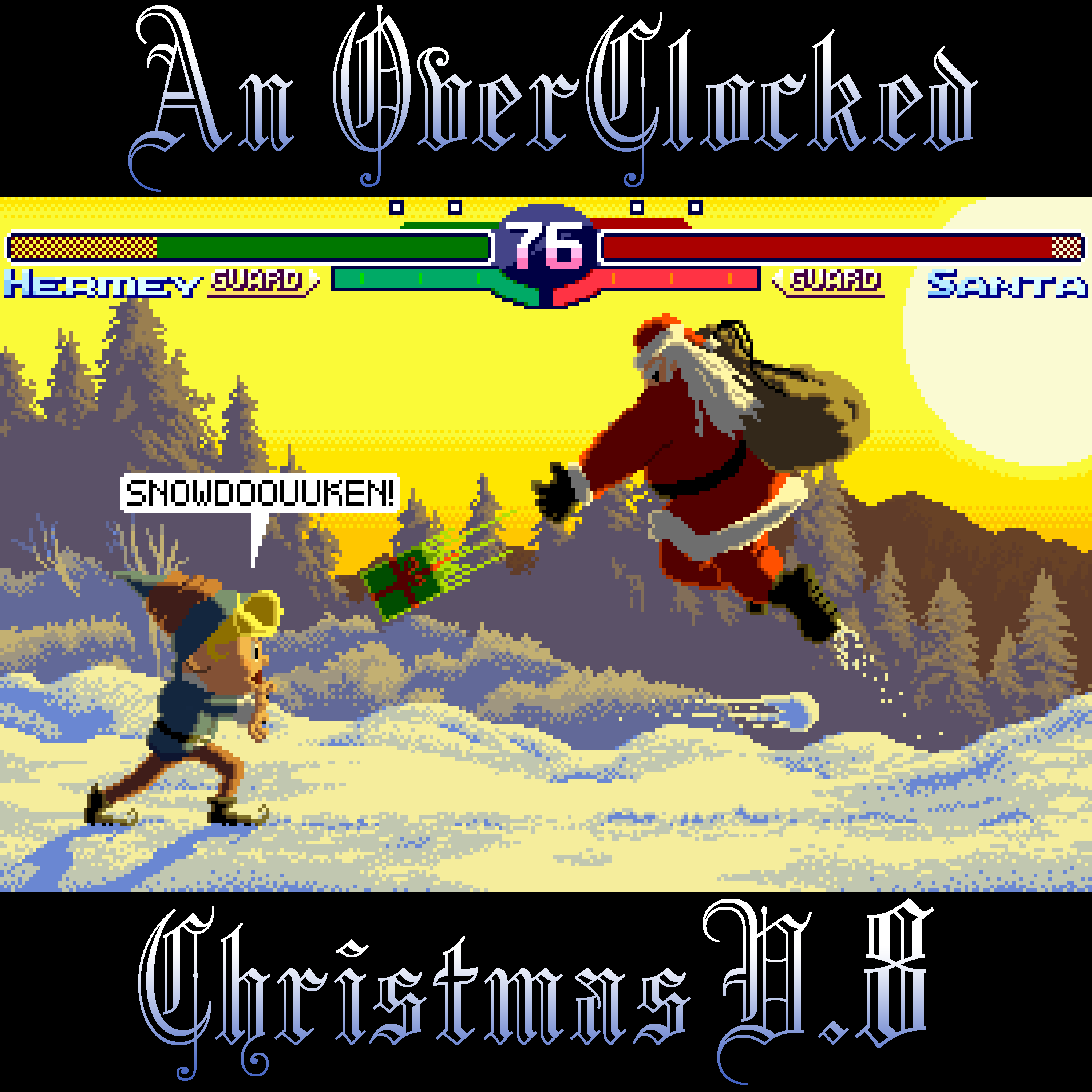 An OverClocked Christmas v.8 Front Cover