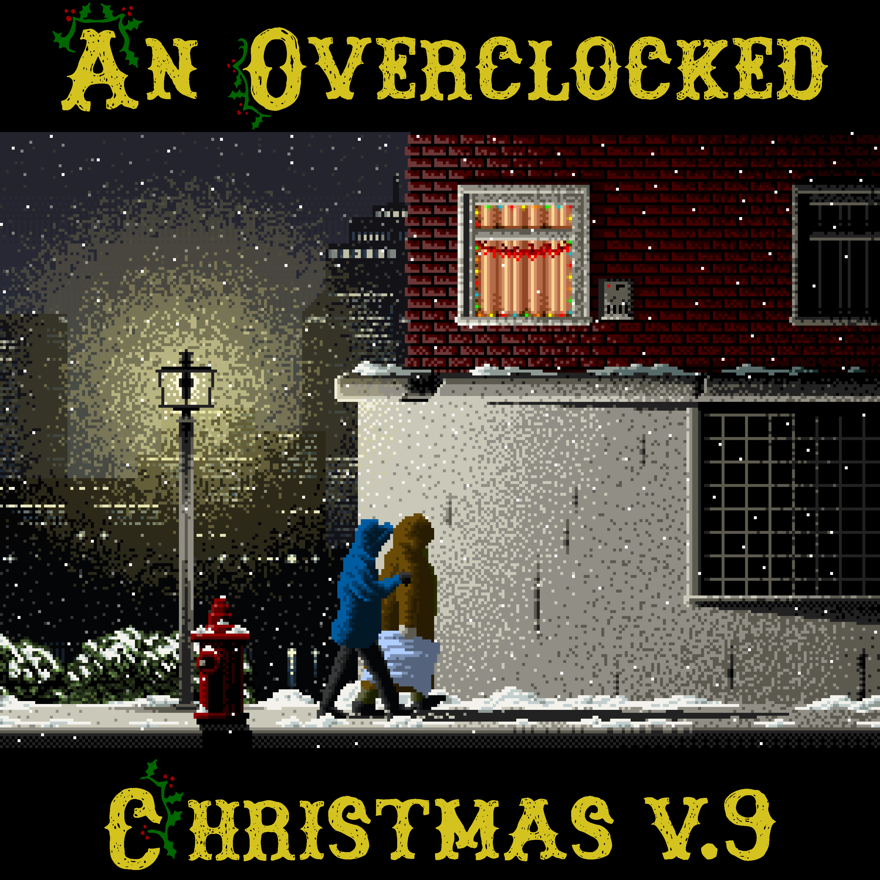 An OverClocked Christmas v.9 Front Cover